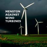 Menston against wind turbines