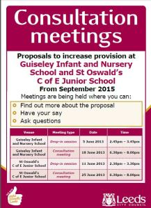 Schools Consultation