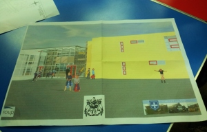 Design for New Buildings at St Oswalds (but not in yellow)