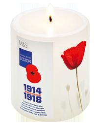 Royal British Legion Limited Edition Candle