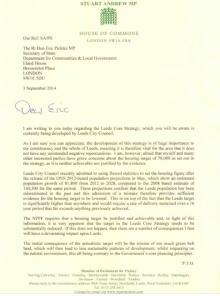 DCLG Letter 1