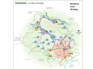 Bradford's Key Diagram (page 66 of the Core Strategy, see link)