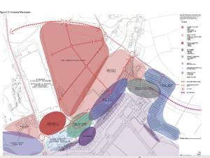 Masterplan, showing proposed 'innovation park'