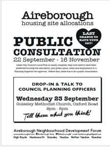 Consultation 23rd flyer